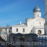 Храм с колокольней