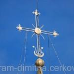 Крест колокольни